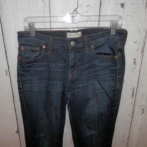 Madewell Women's Size 28 Alley Straight Denim Jean